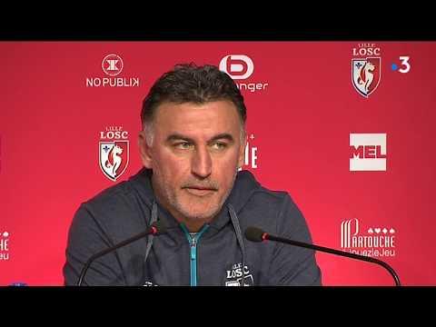 """LOSC : Christophe Galtier : """"C'est un échec personnel"""""""