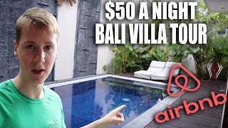 Gambar cover $50 A Night Luxury Bali Villa Tour | North Kuta Airbnb
