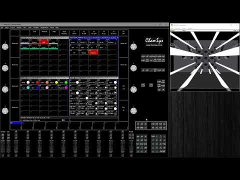 ChamSys MagicQ - Positions, Fanning, Recording from FX