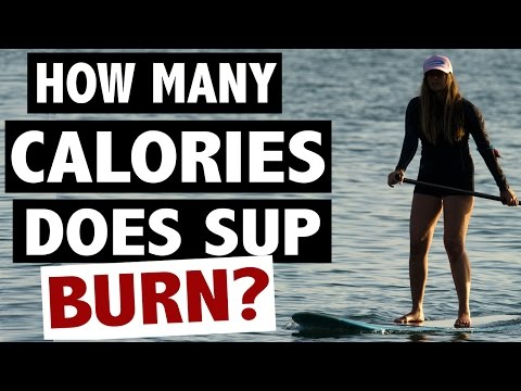 How Many Calories Does Paddle Boarding Burn?