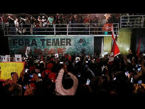 Brazil: Rousseff supporters call for interim President Temer to be ousted