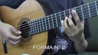 WALTER LOZADA 6 Curso de guitarra peruana / Vals. Cierres criollos en Dm