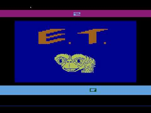 E.T. Atari 2600 Play Through