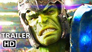 "THOR RAGNAROK Full Fight ""Hulk VS Thor"" Trailer (2017) Thor 3, Marvel Superhero Movie HD"
