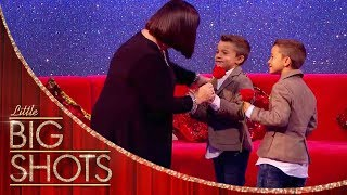 Nursery Rhymes Singing Competition with Los Gemelos Cortés | Little Big Shots