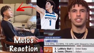 LaMelo Ball REACTS To The Minnesota Timberwolves Getting The #1 Pick & New Tattoo