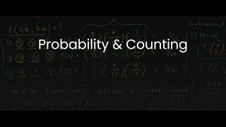 MDM4U/Grade 12 Data Management: 1.4 Probability & Counting