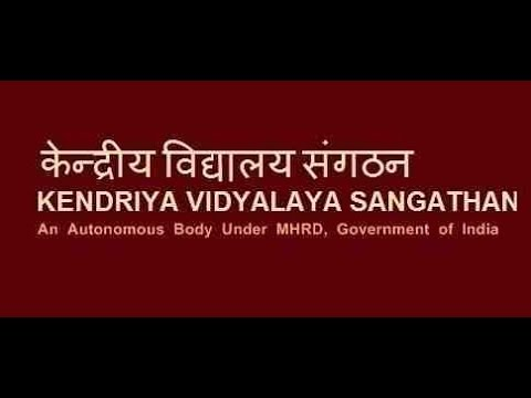 Kendriya Vidyalaya Sangathan KVS Primary Teacher Recruitment Notification 2016-17
