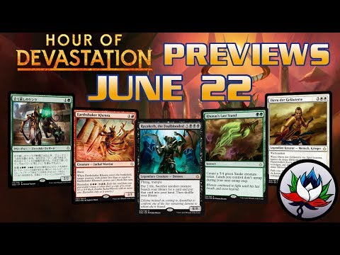 Hour of Devastation Spoilers: Razaketh, the Foulblooded, Rhonas's Last Stand, Hope Tender, and more!