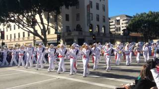 Mexico Marching band on Rose Parade 1st January 2015, Pasadena California