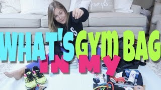WHAT'S IN MY GYM/CHEER BAG!! | Shawn Johnson
