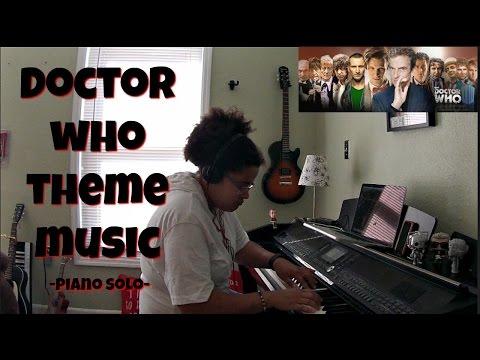 Doctor Who Theme Music w/SHEET MUSIC- Piano Solo by Jen Msumba