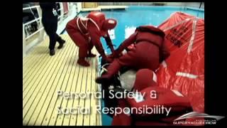 Australian Superyacht Crew - STCW95 basic safety training