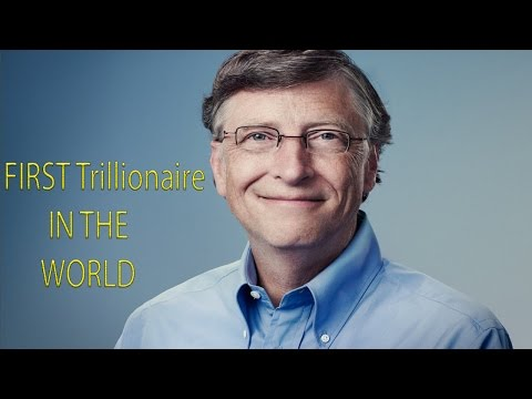 Bill Gates is World's First 'Trillionaire' A Word Still Not In Dictionary||Bill gates