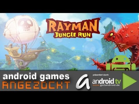 GER] Rayman Jungle Run - android games ANGEZOCKT - android tv
