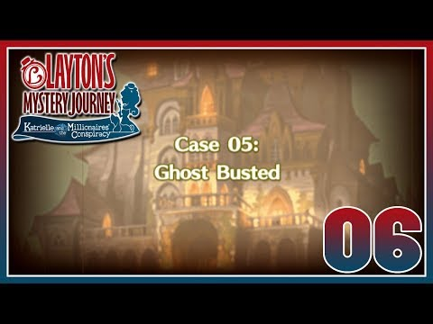 Layton's Mystery Journey - Case 5: Ghost Busted