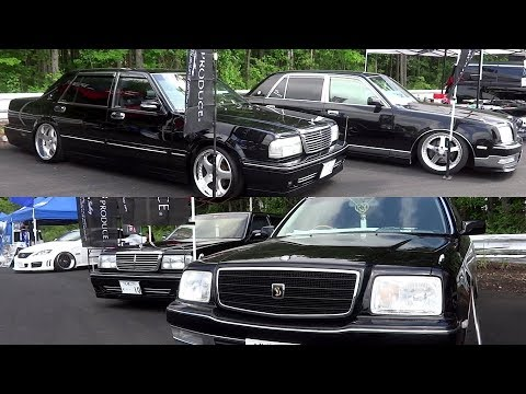 NISSAN GLORIA  Brougham-L VIP Y31 & TOYOTA CENTURY 日産 グロリア ブロアム L VIP Y31 & トヨタ センチュリー カスタムカー