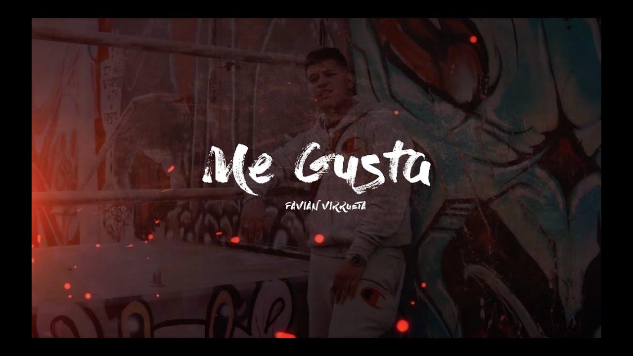Favian Virrueta - Me Gusta (Letra/Lyric Video) 2020
