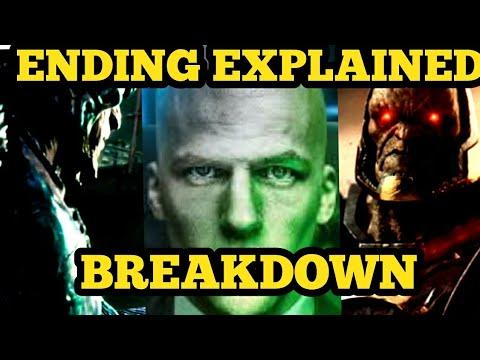 Justice League Ending Explained