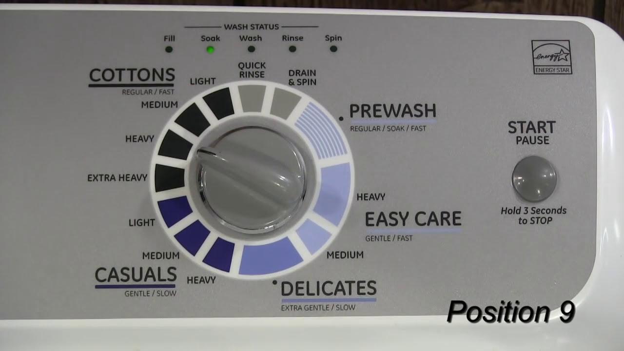 field service mode ge hydrowave washers [ 1280 x 720 Pixel ]