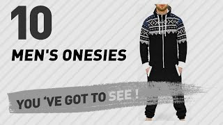 Top 10 Men'S Onesies // UK New & Popular 2017