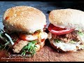 VEGAN FRIED CHICKON BURGERS - MADE WITH SHREDDED CHICKON RECIPE  | Connie's RAWsome kitchen ASMR