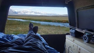 Traveling and Fishing the Eastern Sierra in my Pickup Rig