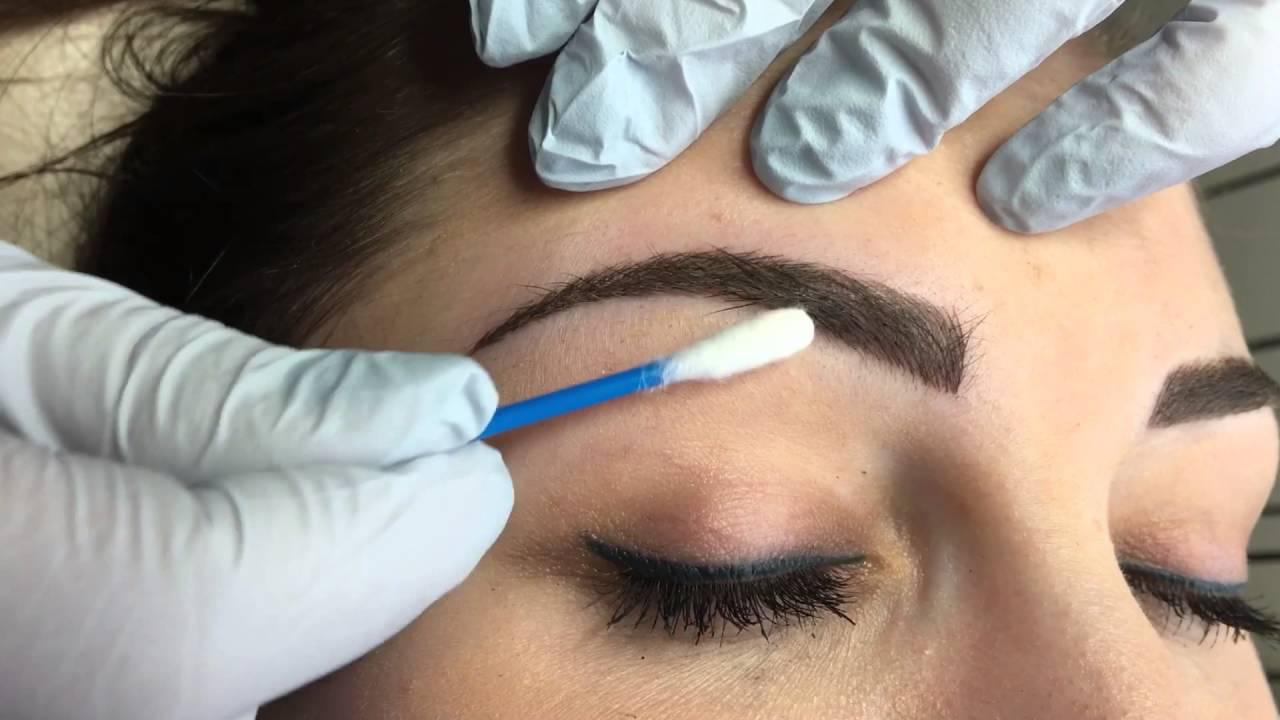Makijaż Permanentny Brwi Metodą Piórkową Youtube