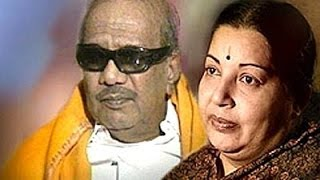 Jayalalithaa and Karunanidhi strike emotional chord