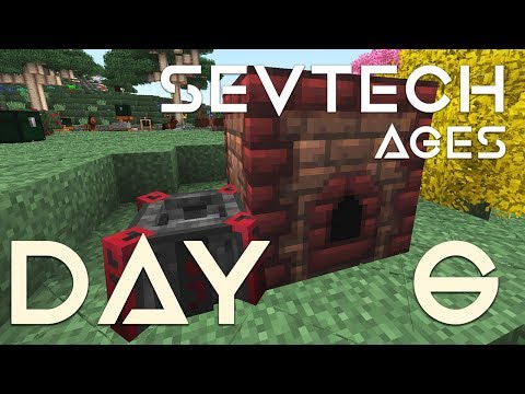 SevTech: Ages - EP 6 | Mining mechanics & Immersive Engineering Alloy Kiln