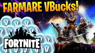 1200 VBUCKS A SETTIMANA! FARMARE VBucks free con Fortnite Salva il Mondo