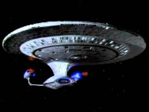Star Trek TNG Ambient Engine Noise Idling for 24 hrs