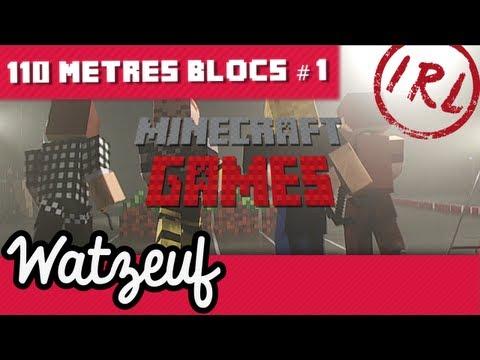 Minecraft Games   110 metres blocs   #1