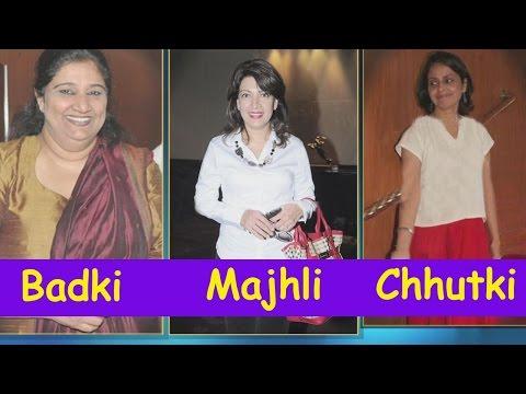Badki, Majhli and Chhutki of 'Hum Log'