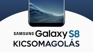SAMSUNG Galaxy S8 - Kicsomagolás