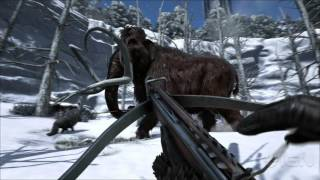 ark survival evolved xbox one gameplay official reveal trailer