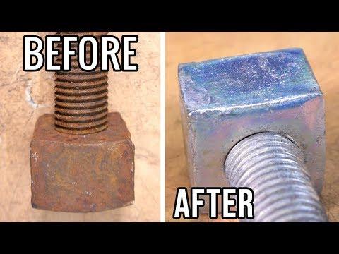 How to Zinc Electroplate - 1950's British Railway Bolt Restoration