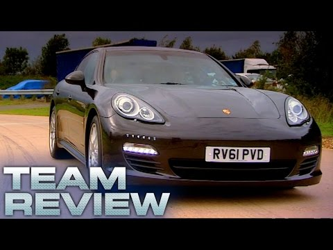 Porsche Panamera Diesel Team Review Fifth Gear