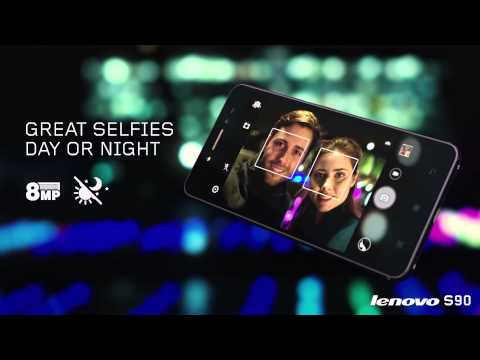 LENOVO S90: A designer smartphone for snapping and sharing