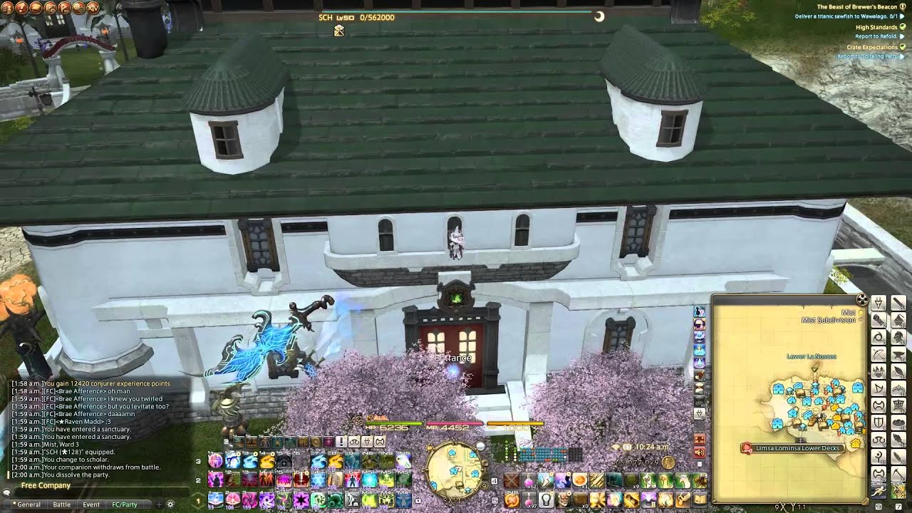 ffxiv climbing medium mist estates youtube - Medium House 2016