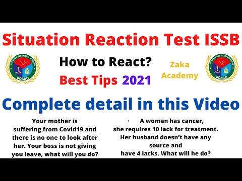 Situation Reaction Test Issb #Situation Reaction Test in Issb Issb #Situation Reaction test  #Issb