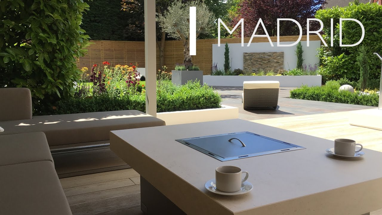 madrid gas fire table rivelin youtube