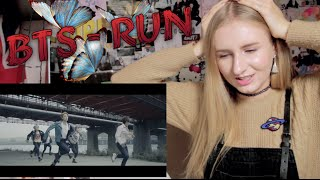 Kpop MV REACTION: BTS - RUN / 방탄소년단 'RUN'
