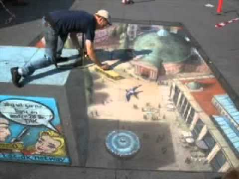 Amazing 3D Pictures On The Streets