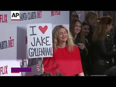 Barrymore's feelings for Gyllenhaal