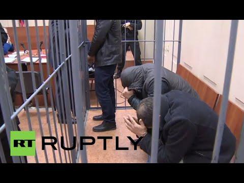 LIVE: Five suspects in Boris Nemtsov assassination case in court