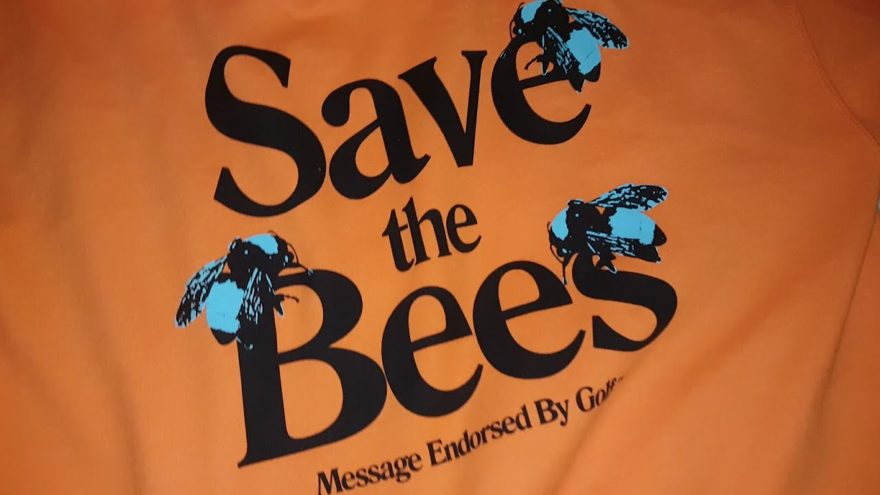 2a163a59326a50 Golf Wang Save The Bees Hoodie Orange - YouTube