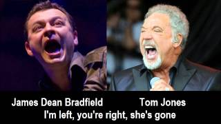 Nick introduces James Dean Bradfield and Tom Jones -  I