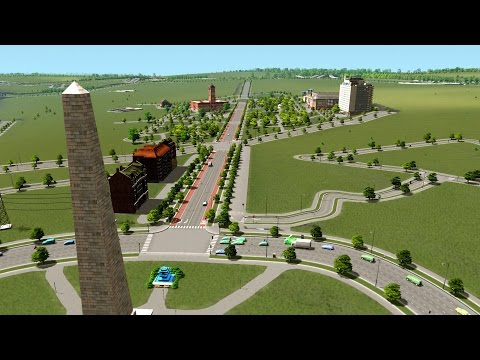 Cities Skylines Gameplay FR - Ville réaliste 13 - Avenue ins