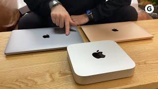 新型Mac M1をあけるだけ(本当にあけるだけ)